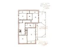 Herindelingsplan woonhuis met cafe, Heuvelsestraat, Bemmel