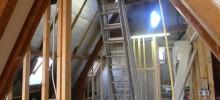 Verbouwing in volle gang